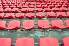 Krzesła stojaki stadion futbolowy Zdjęcie Royalty Free