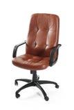 krzesła swivel rzemienny biurowy Obraz Royalty Free