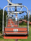 krzesła dźwignięcia narta Zdjęcia Royalty Free