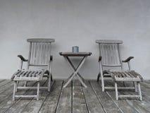 krzeseł holu stół Zdjęcie Royalty Free
