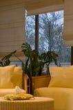 krzeseł kwiatu wnętrze dwa Fotografia Stock