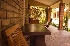 krzeseł ogródu stół Fotografia Stock