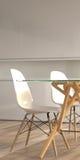 krzeseł szczegółu wewnętrzny nowożytny stół Obraz Royalty Free