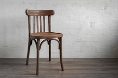 krzesło drewna Fotografia Stock