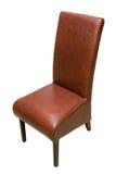 krzesło skóra Obrazy Royalty Free