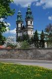 Krzeszow的修道院,波兰 库存图片