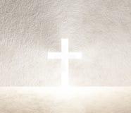 Krzyż światło Zdjęcia Stock