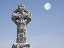 Krzyż i księżyc Zdjęcia Stock
