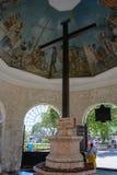 Krzyż Magellan w Cebu, Filipiny obraz royalty free