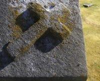 krzyż niewygładzony obrazy royalty free