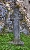 Krzyż przed otręby kasztelem zdjęcie royalty free