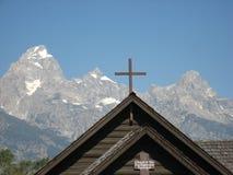 Krzyż Uroczysty Tetons obrazy stock