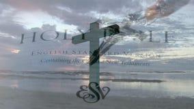 Krzyż w brzeg zbiory