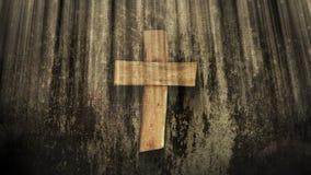 Krzyż w Ray s światło zbiory