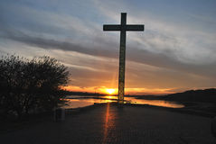 Krzyż w Włocławskim Obraz Stock