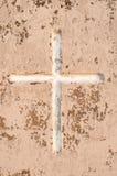 krzyż wietrzejący Obrazy Royalty Free