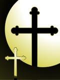 krzyż zaświecający ilustracji