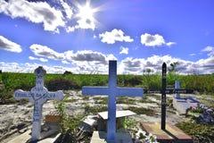 Krzyże na drodze Brazylia fotografia stock