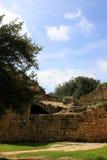 krzyżowów fortecy ruiny zdjęcia stock