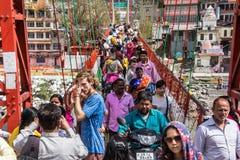 Krzyżować Ganges zdjęcia royalty free