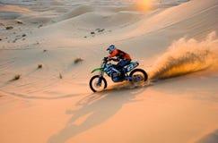 Krzyżować przez pustyni Fotografia Royalty Free
