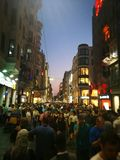 Krzyżować Taksim kwadrat obraz stock
