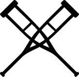 krzyżujący szczudła Zdjęcia Royalty Free