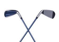krzyżuje golfa zdjęcia royalty free