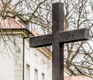 Krzyżuje upamiętniać nieboszczyka Pierwszy wojna światowa zdjęcie stock