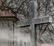 Krzyżuje upamiętniać nieboszczyka Pierwszy wojna światowa zdjęcia stock