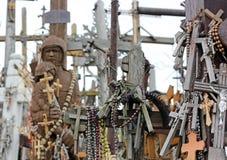 krzyżuje wzgórze Lithuania fotografia royalty free