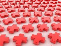 Krzyż Fotografia Stock