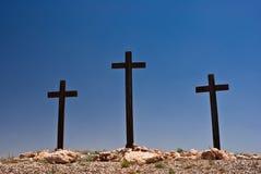 krzyże trzy Obraz Royalty Free