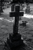 krzyż na cmentarz obrazy stock