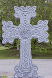 krzyż na cmentarzu Fotografia Royalty Free