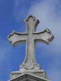 krzyż na cmentarzu Zdjęcie Stock