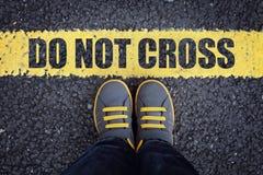 krzyż nie Zdjęcia Royalty Free