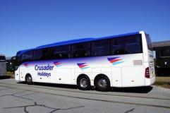 Krzyżowów wakacji touringcar autobus - trener Obrazy Royalty Free