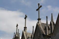 krzyżuje crypts Fotografia Royalty Free