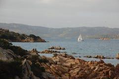 Krzyżuje morze a Fotografia Royalty Free