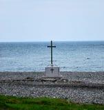 Krzyżuje morze Zdjęcia Royalty Free