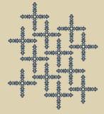 krzyża wzór Fotografia Royalty Free