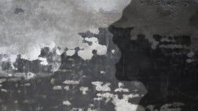 Krzyczący mężczyzna cień i komiczki chmura Zdjęcia Stock