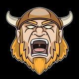 Krzyczeć Viking Obraz Royalty Free