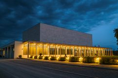 Krzysztof Penderecki European Centre per musica Immagini Stock