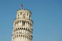' krzywą wieżę Obraz Royalty Free