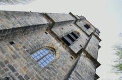 ' krzywą wieżę Obrazy Royalty Free