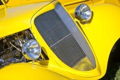 krzywy kolor żółty Obrazy Royalty Free