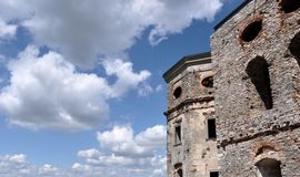 Krzyztopor castle in Poland Stock Image