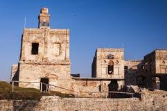Krzyztopor est des ruines se retranchent situé dans le village d'Ujazd dedans photo stock